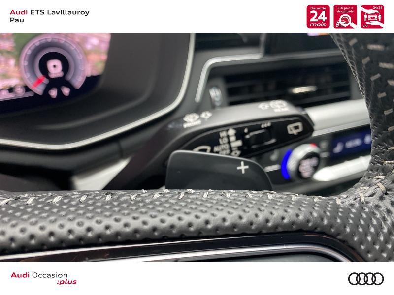 Audi A4 Avant 35 TDI 163ch S line S tronic 7 9cv Blanc occasion à Lescar - photo n°14