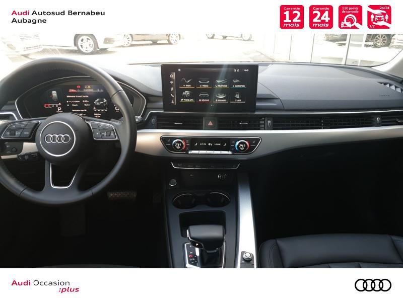 Audi A4 Avant 35 TFSI 150ch Avus S tronic 7 Noir occasion à Aubagne - photo n°6