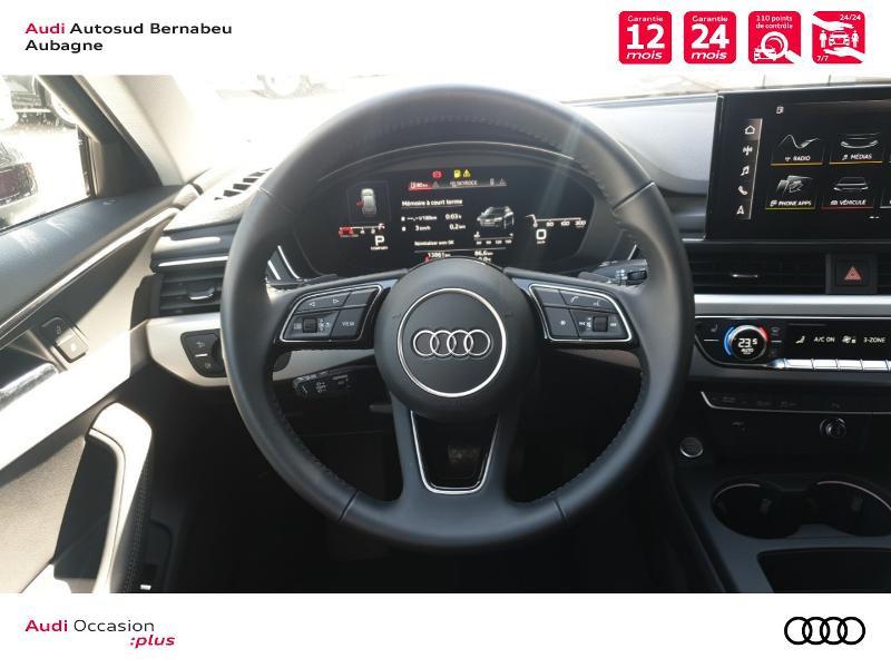 Audi A4 Avant 35 TFSI 150ch Avus S tronic 7 Noir occasion à Aubagne - photo n°7