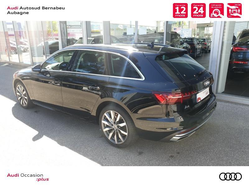 Audi A4 Avant 35 TFSI 150ch Avus S tronic 7 Noir occasion à Aubagne - photo n°3
