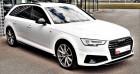 Audi A4 Avant 40 TDI 190 S tronic 7 S line Blanc à Bourgogne 69