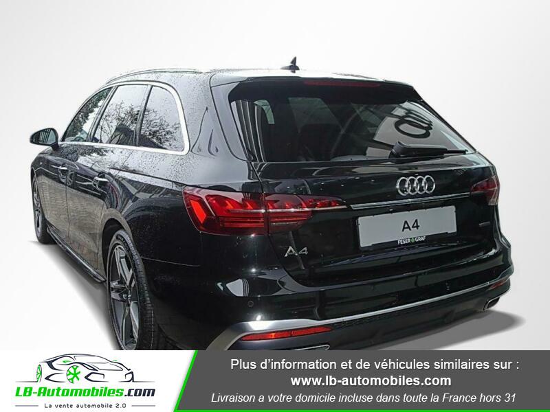 Audi A4 Avant 40 TFSI 204 S-tronic Noir occasion à Beaupuy - photo n°3