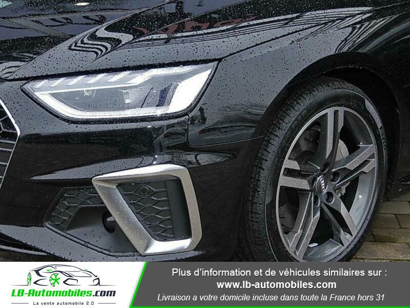 Audi A4 Avant 40 TFSI 204 S-tronic Noir occasion à Beaupuy - photo n°10