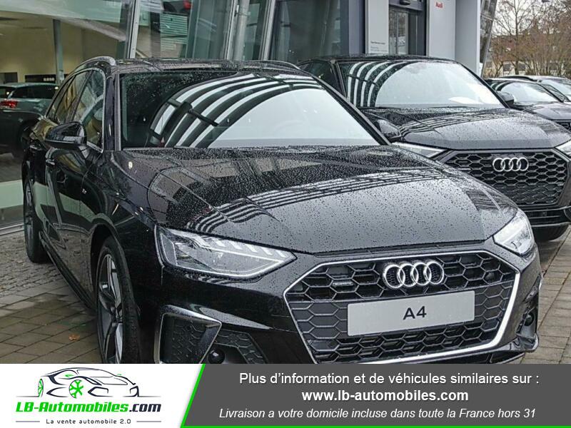 Audi A4 Avant 40 TFSI 204 S-tronic Noir occasion à Beaupuy - photo n°4