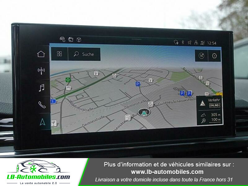 Audi A4 Avant 40 TFSI 204 S-tronic Noir occasion à Beaupuy - photo n°8