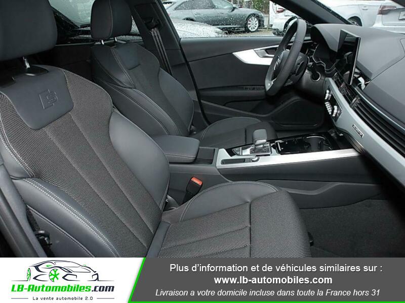 Audi A4 Avant 40 TFSI 204 S-tronic Noir occasion à Beaupuy - photo n°5