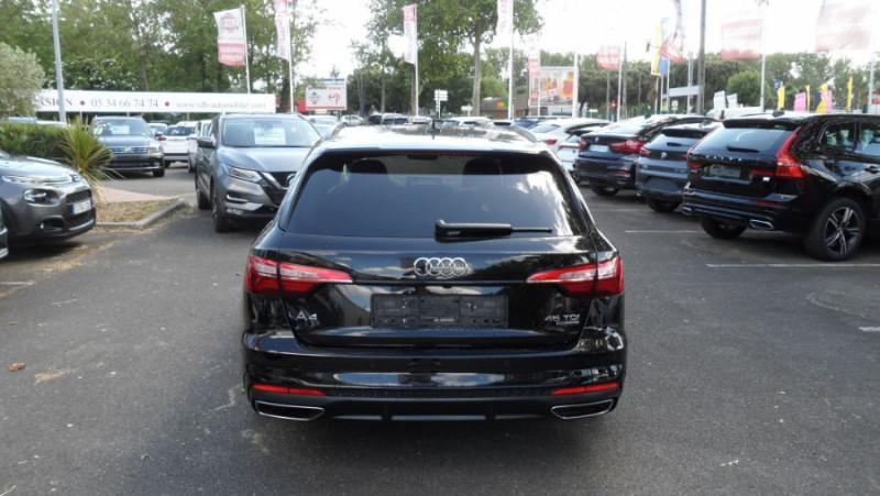 Audi A4 Avant 45 TDI 231 QUATTRO SLINE Ext Toit Pano Ouv GPS LED Noir occasion à Toulouse - photo n°5