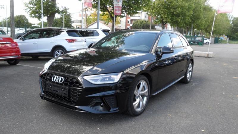 Audi A4 Avant 45 TDI 231 QUATTRO SLINE Ext Toit Pano Ouv GPS LED Noir occasion à Toulouse - photo n°8