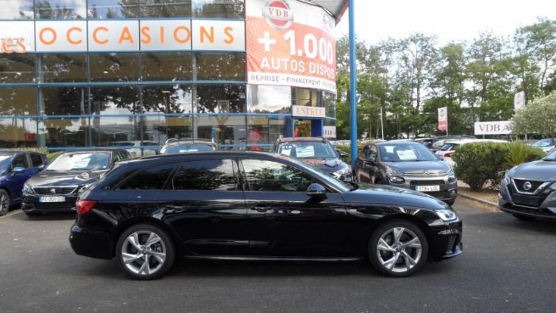 Audi A4 Avant 45 TDI 231 QUATTRO SLINE Ext Toit Pano Ouv GPS LED Noir occasion à Toulouse - photo n°3