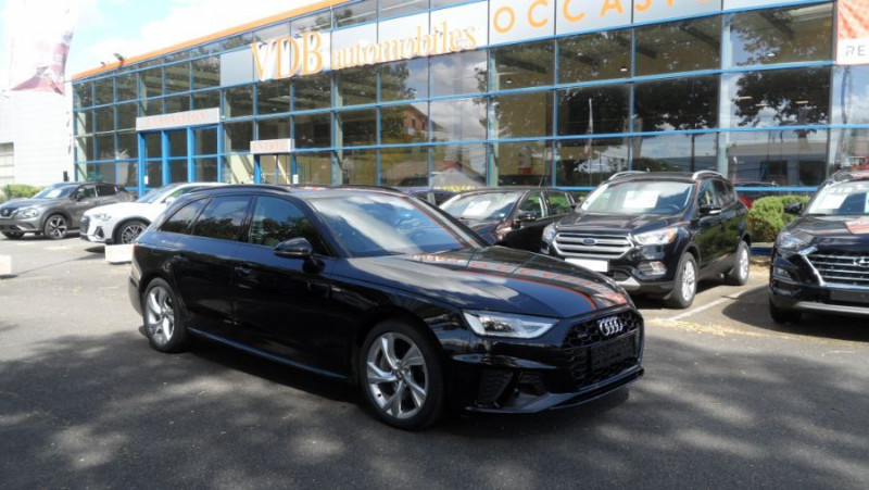 Audi A4 Avant 45 TDI 231 QUATTRO SLINE Ext Toit Pano Ouv GPS LED Noir occasion à Toulouse