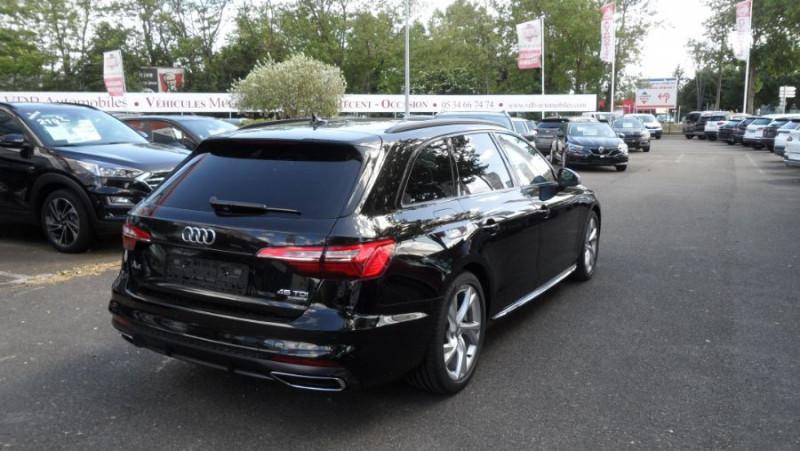 Audi A4 Avant 45 TDI 231 QUATTRO SLINE Ext Toit Pano Ouv GPS LED Noir occasion à Toulouse - photo n°4