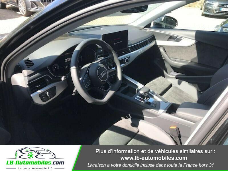 Audi A4 Avant 45 TFSI 245 S-tronic Noir occasion à Beaupuy - photo n°8