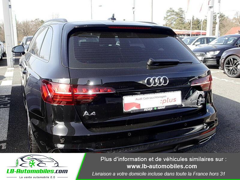 Audi A4 Avant 45 TFSI 245 S-tronic Noir occasion à Beaupuy - photo n°3