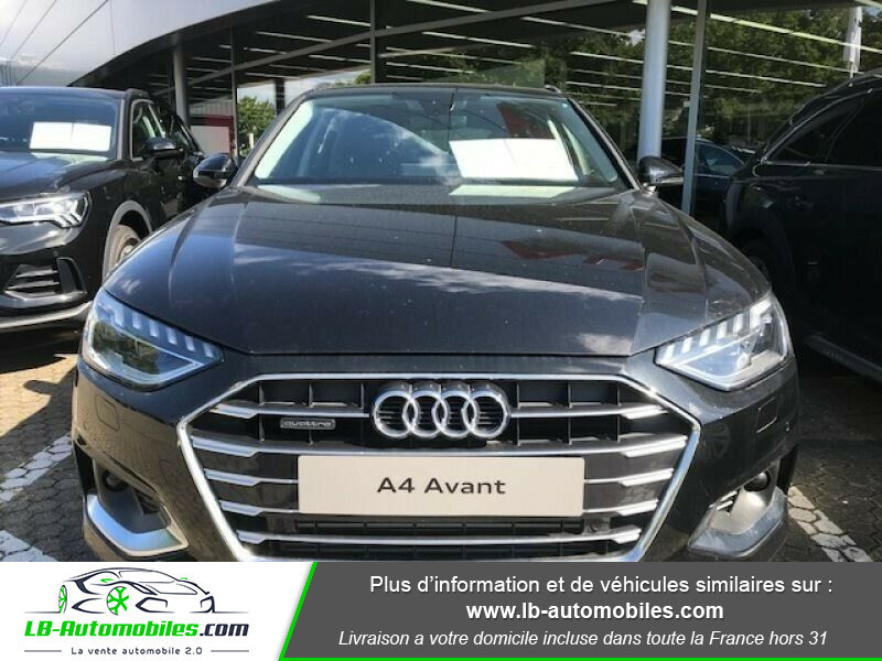Audi A4 Avant 45 TFSI 245 S-tronic Noir occasion à Beaupuy - photo n°4