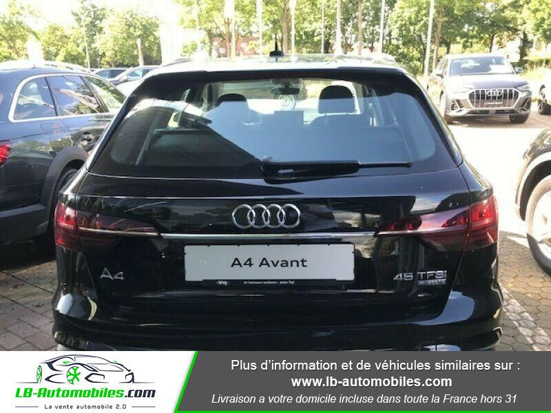 Audi A4 Avant 45 TFSI 245 S-tronic Noir occasion à Beaupuy - photo n°6