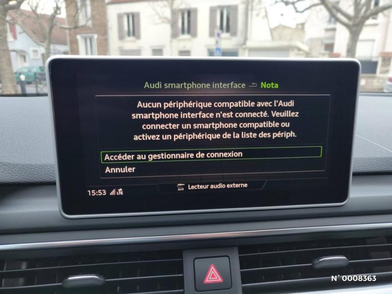 Audi A4 Avant A4 Avant 2.0 TDI 150 S tronic 7S line Gris occasion à Saint-Maur-des-Fossés - photo n°19