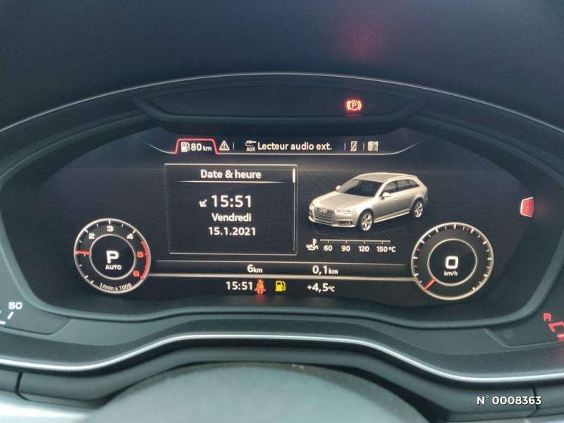 Audi A4 Avant A4 Avant 2.0 TDI 150 S tronic 7S line Gris occasion à Saint-Maur-des-Fossés - photo n°17