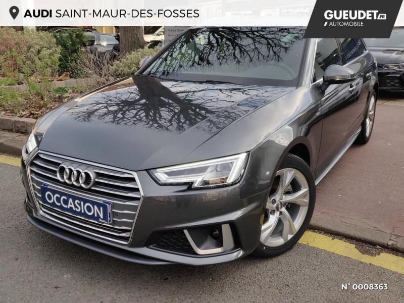 Audi A4 Avant A4 Avant 2.0 TDI 150 S tronic 7S line Gris occasion à Saint-Maur-des-Fossés