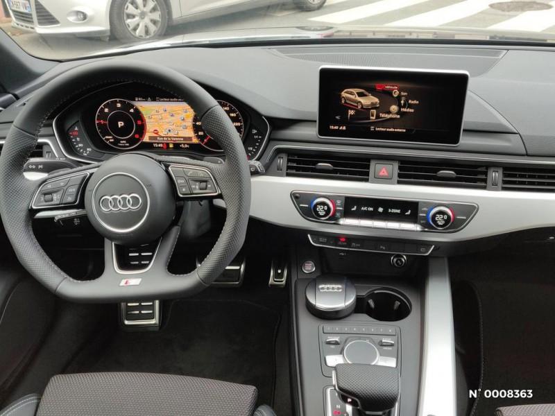 Audi A4 Avant A4 Avant 2.0 TDI 150 S tronic 7S line Gris occasion à Saint-Maur-des-Fossés - photo n°13