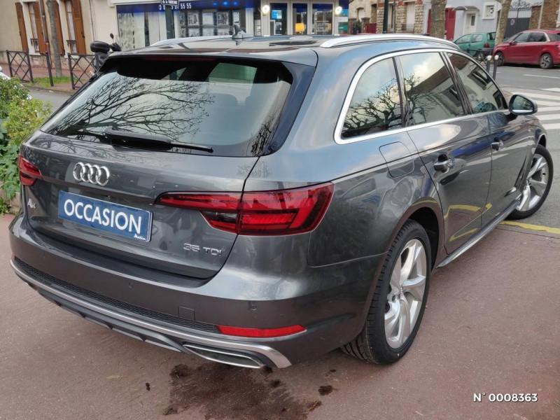 Audi A4 Avant A4 Avant 2.0 TDI 150 S tronic 7S line Gris occasion à Saint-Maur-des-Fossés - photo n°2