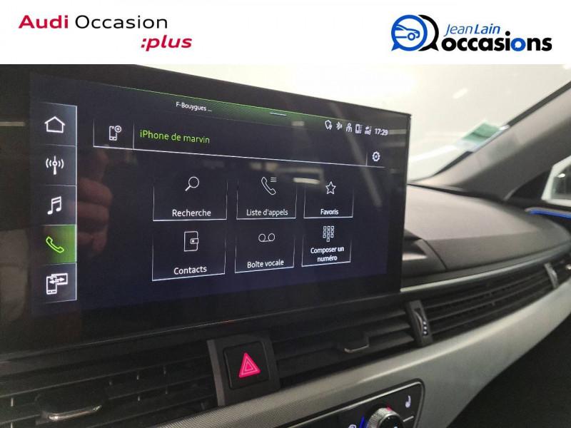Audi A4 Avant A4 Avant 35 TDI 163 S tronic 7 Avus 5p Noir occasion à Seynod - photo n°16