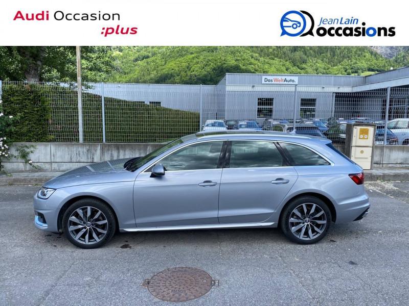 Audi A4 Avant A4 Avant 35 TDI 163 S tronic 7 Avus 5p Argent occasion à Sallanches - photo n°8