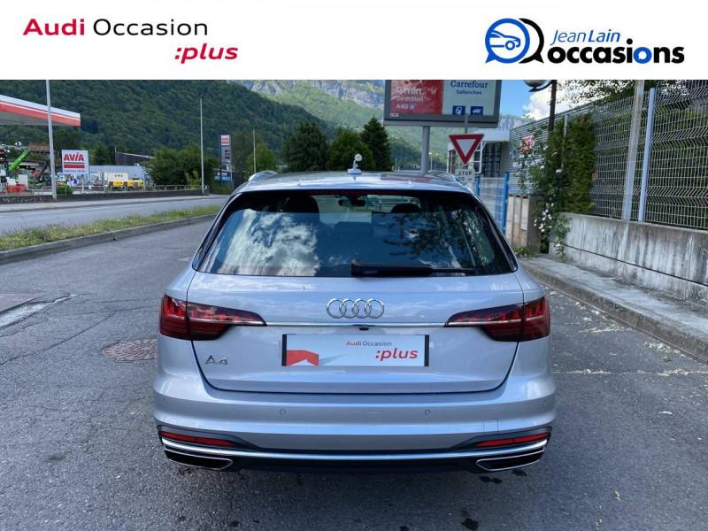 Audi A4 Avant A4 Avant 35 TDI 163 S tronic 7 Avus 5p Argent occasion à Sallanches - photo n°6