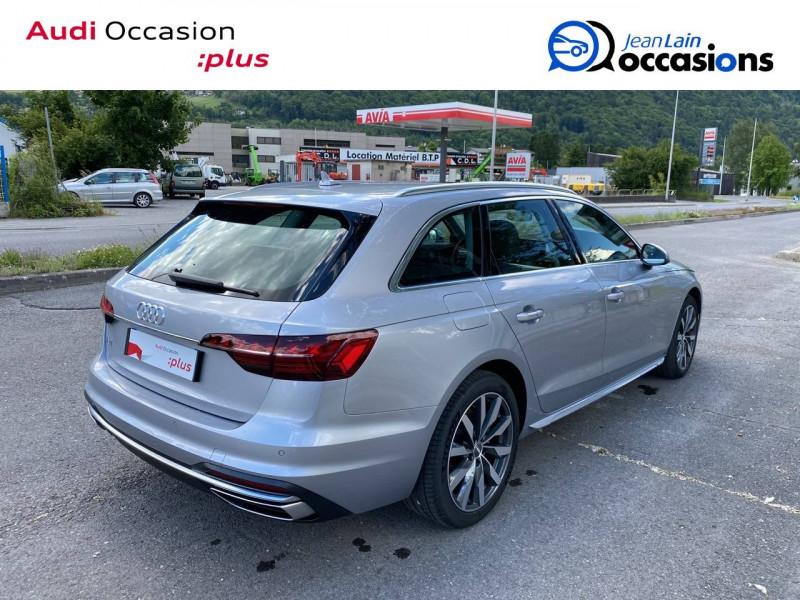 Audi A4 Avant A4 Avant 35 TDI 163 S tronic 7 Avus 5p Argent occasion à Sallanches - photo n°5