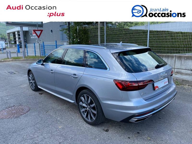 Audi A4 Avant A4 Avant 35 TDI 163 S tronic 7 Avus 5p Argent occasion à Sallanches - photo n°7