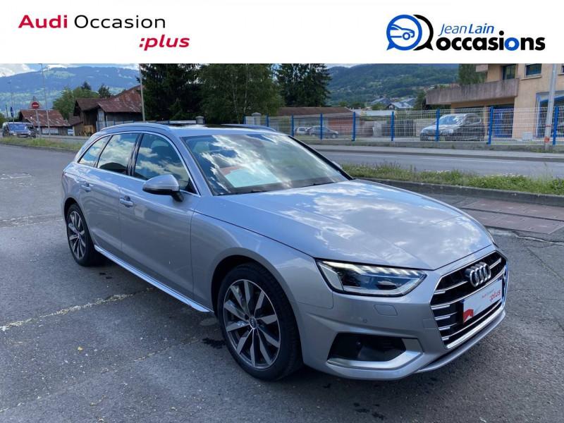 Audi A4 Avant A4 Avant 35 TDI 163 S tronic 7 Avus 5p Argent occasion à Sallanches - photo n°3