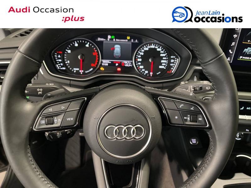 Audi A4 Avant A4 Avant 35 TDI 163 S tronic 7 Business Line 5p Gris occasion à Seynod - photo n°12
