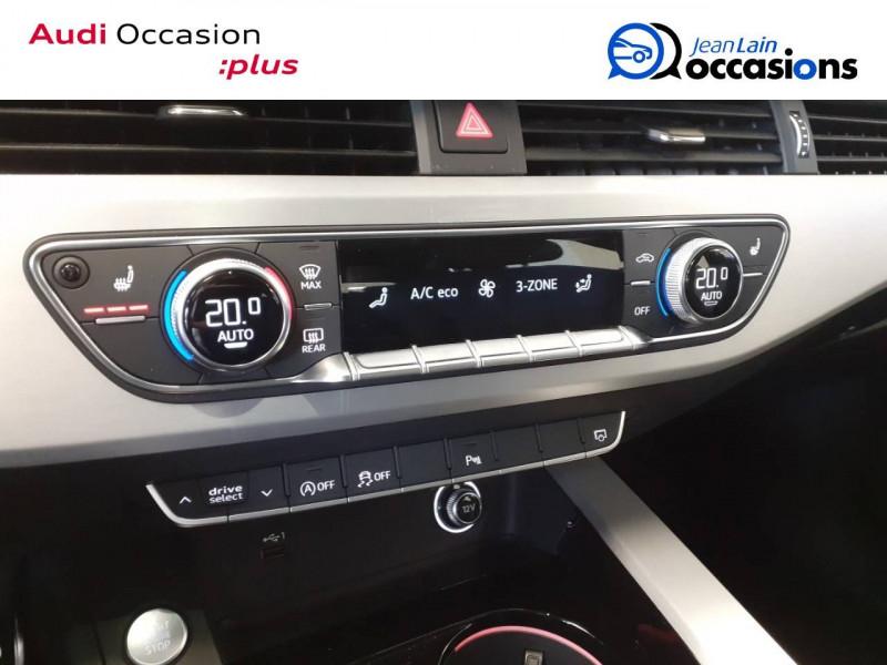 Audi A4 Avant A4 Avant 35 TDI 163 S tronic 7 S line 5p Noir occasion à Voiron - photo n°14