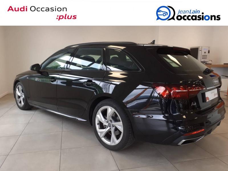Audi A4 Avant A4 Avant 35 TDI 163 S tronic 7 S line 5p Noir occasion à Voiron - photo n°7