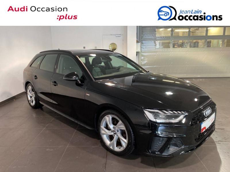 Audi A4 Avant A4 Avant 35 TFSI 150 S tronic 7 S line 5p Noir occasion à Seynod - photo n°3