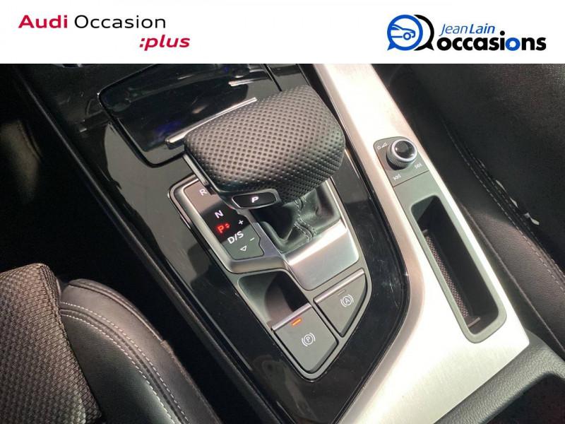 Audi A4 Avant A4 Avant 35 TFSI 150 S tronic 7 S line 5p Noir occasion à Seynod - photo n°13