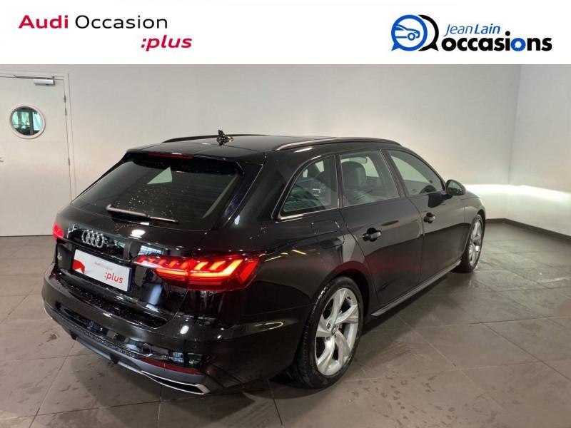 Audi A4 Avant A4 Avant 35 TFSI 150 S tronic 7 S line 5p Noir occasion à Seynod - photo n°5