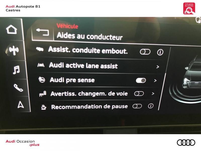 Audi A4 Avant A4 Avant 40 TDI 190 S tronic 7 S line 5p Blanc occasion à Castres - photo n°16