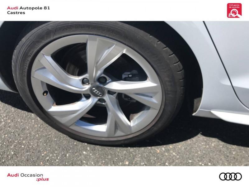 Audi A4 Avant A4 Avant 40 TDI 190 S tronic 7 S line 5p Blanc occasion à Castres - photo n°5