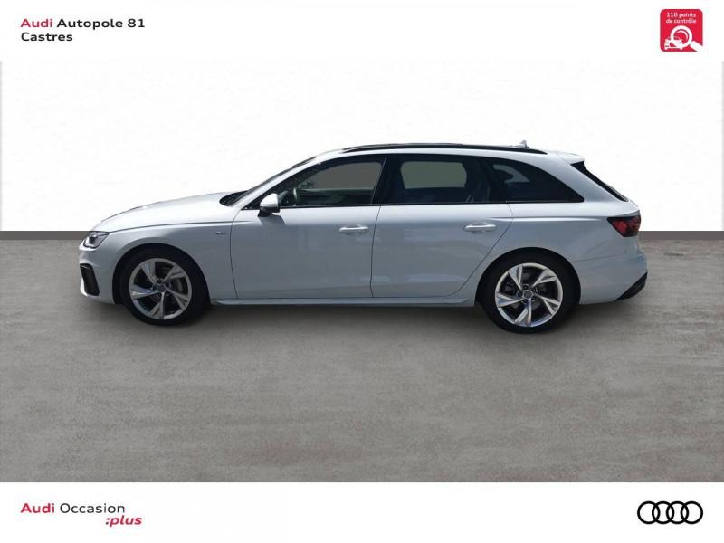 Audi A4 Avant A4 Avant 40 TDI 190 S tronic 7 S line 5p Blanc occasion à Castres - photo n°2
