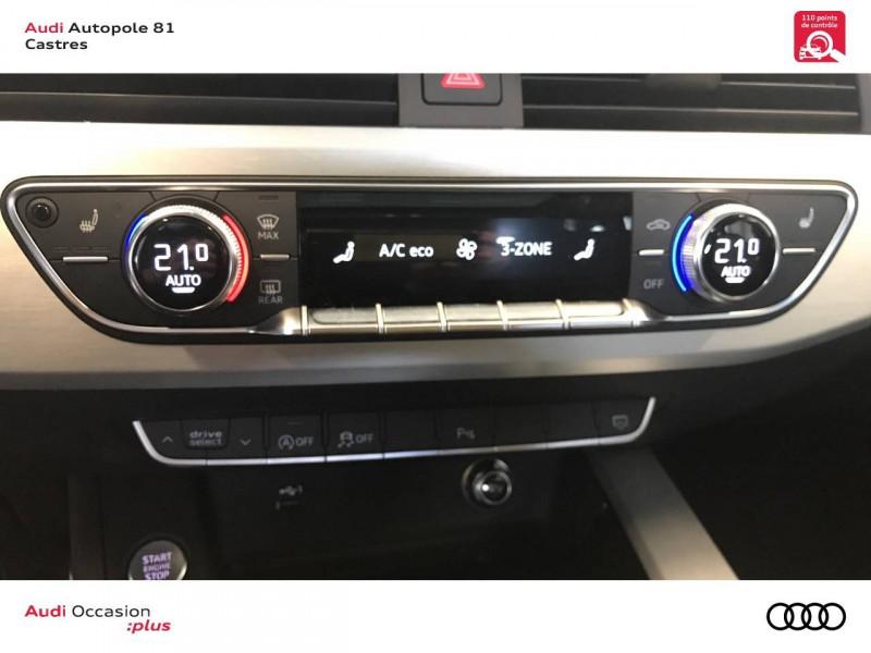 Audi A4 Avant A4 Avant 40 TDI 190 S tronic 7 S line 5p Blanc occasion à Castres - photo n°14