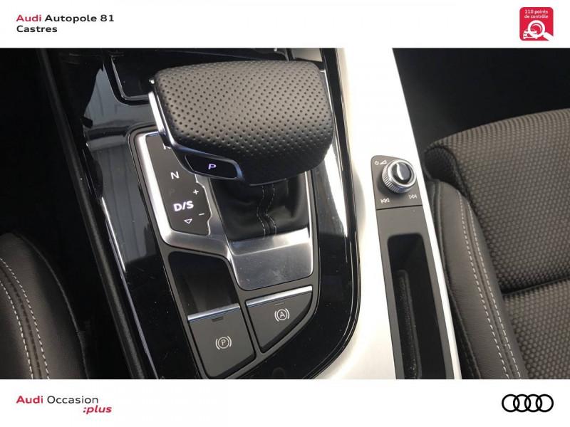 Audi A4 Avant A4 Avant 40 TDI 190 S tronic 7 S line 5p Blanc occasion à Castres - photo n°12
