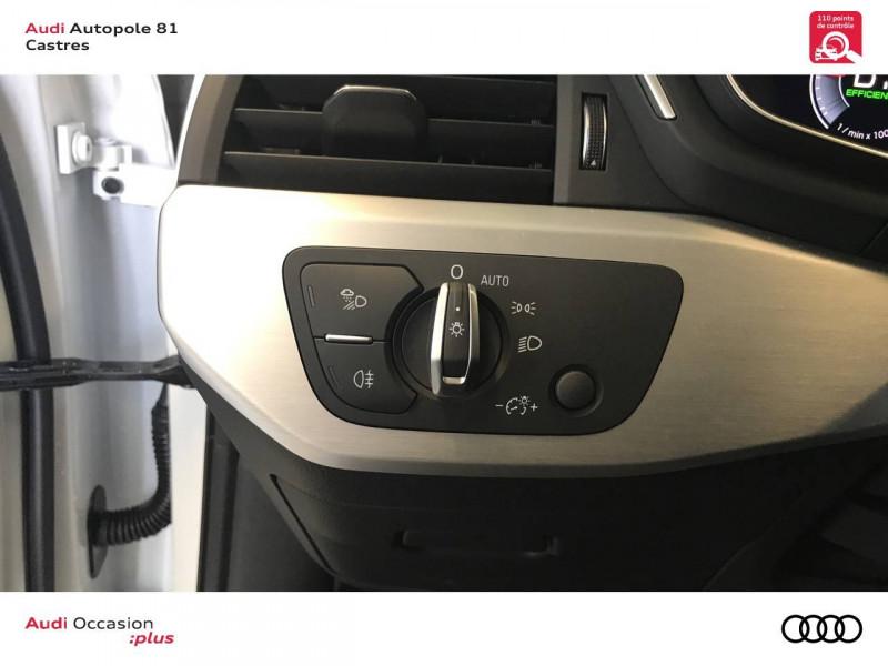 Audi A4 Avant A4 Avant 40 TDI 190 S tronic 7 S line 5p Blanc occasion à Castres - photo n°9