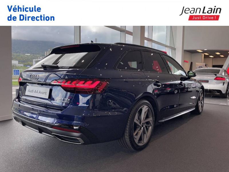 Audi A4 Avant A4 Avant 40 TDI 204 S tronic 7 Quattro S Edition 5p  occasion à Seynod - photo n°5