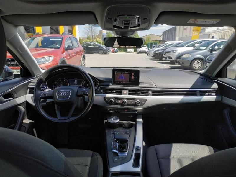 Audi A4 Avant BUSINESS 2.0 TDI ultra 150 S tronic 7 Line Bleu occasion à VANNES - photo n°4