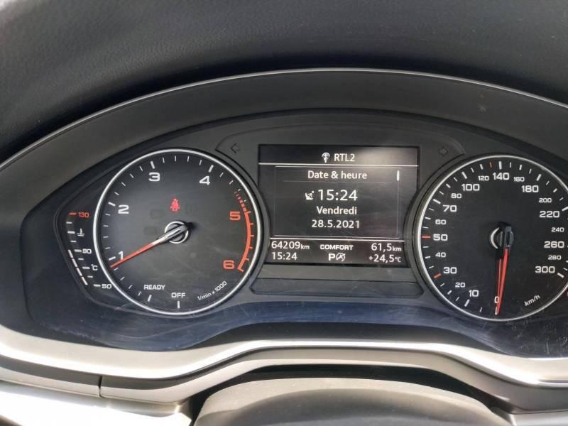 Audi A4 Avant BUSINESS 2.0 TDI ultra 150 S tronic 7 Line Bleu occasion à VANNES - photo n°8