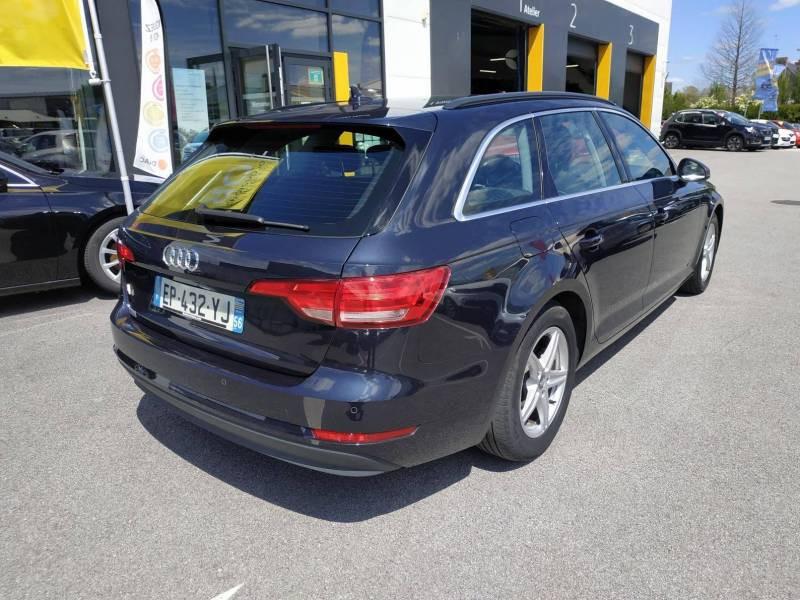 Audi A4 Avant BUSINESS 2.0 TDI ultra 150 S tronic 7 Line Bleu occasion à VANNES - photo n°3