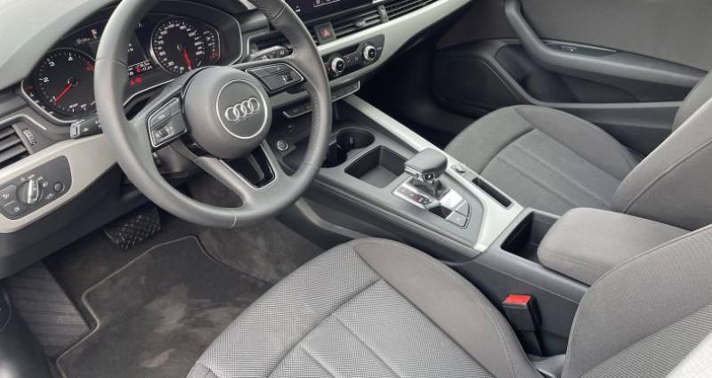 Audi A4 Avant BUSINESS 30 TDI 136 S tronic 7 Business Line Noir occasion à Saint-Ouen - photo n°5