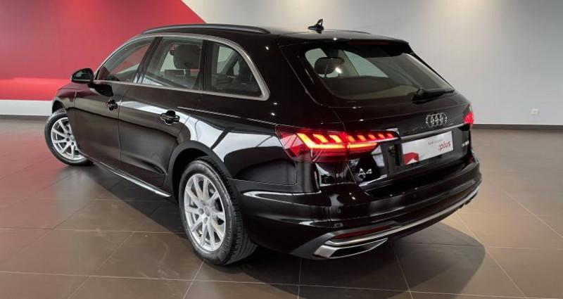 Audi A4 Avant BUSINESS 30 TDI 136 S tronic 7 Business Line Noir occasion à Saint-Ouen - photo n°3