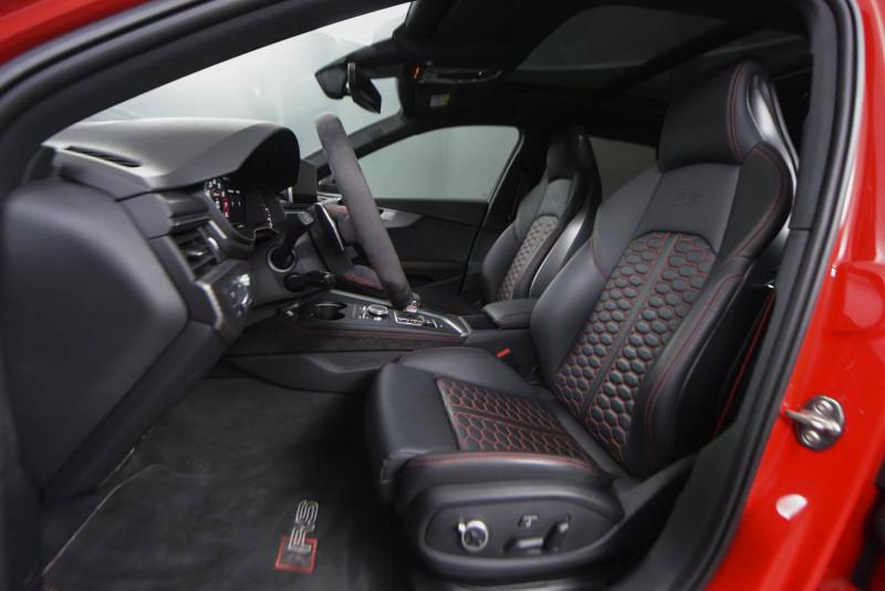 Audi A4 Avant RS4 Avant V6 2.9 TFSI 450 ch Tiptronic 8 Quattro  5p Rouge occasion à Castres - photo n°9