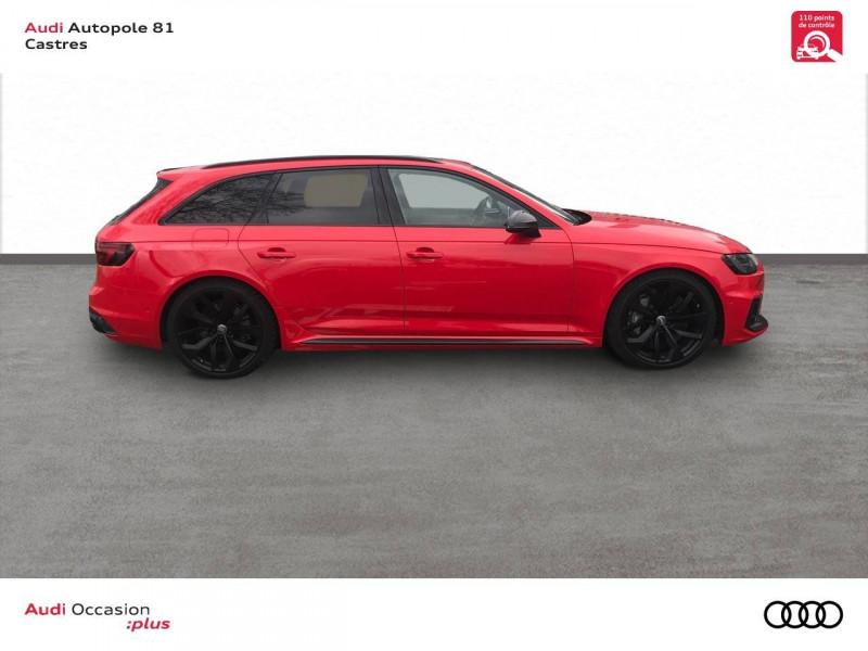 Audi A4 Avant RS4 Avant V6 2.9 TFSI 450 ch Tiptronic 8 Quattro  5p Rouge occasion à Castres - photo n°2